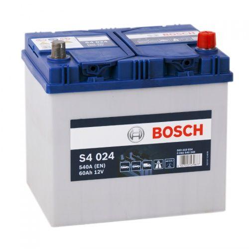 Автомобильный аккумулятор bosch 60 a/ч s4 024